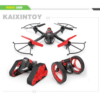 3 in 1 2.4G Remote Control Drone with Camera(WIFI real-time transmission)