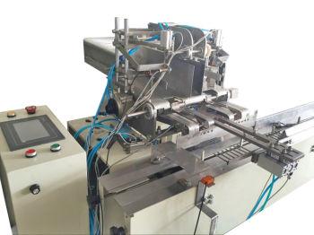餐巾纸自动数片和分叠机