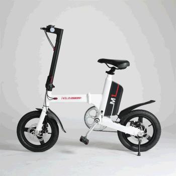 爱维乐电动折叠自行车