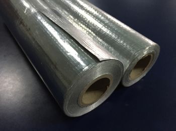 阻燃高强度铝箔编织布
