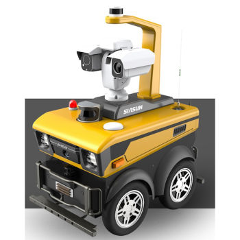 安保巡逻机器人