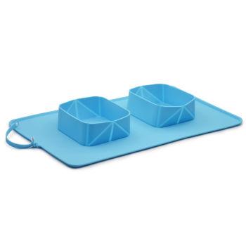 折叠硅胶狗碗