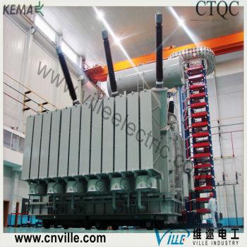 500Kv 油浸式三相双绕组电力变压器 100MVA 到 840MVA