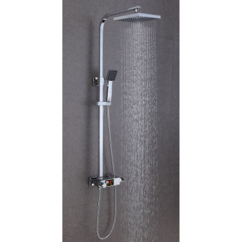 No Battery Automatic Smart Touch Screen Controled Shower Faucet