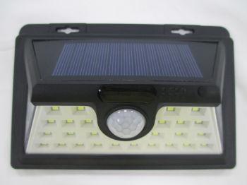 太阳能感应安防灯