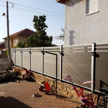 半隔断系列木塑围栏