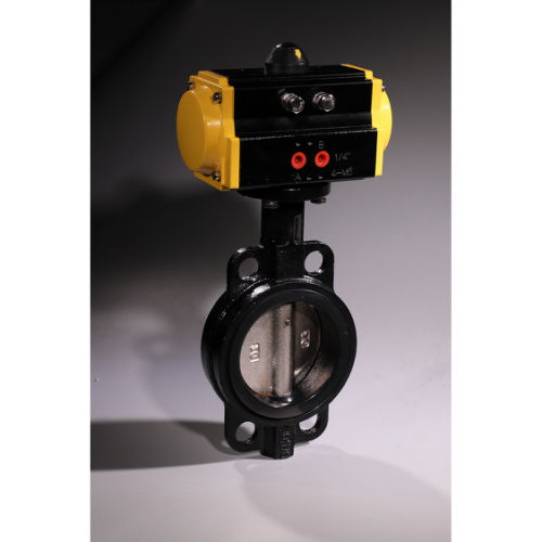 High Frequency 1,000,000 Operation Automatic Control Pneumatic Actuated Valve for Harsh Environment