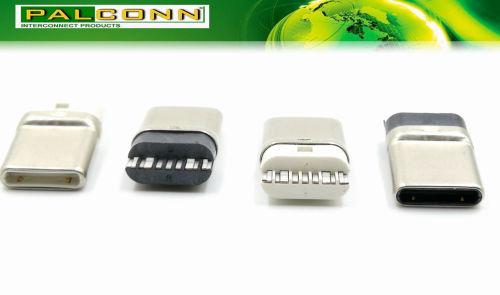 USB 2.0 type C 连接器