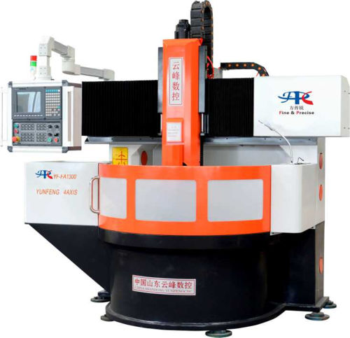Four-axis CNC Engraving Machine for Tire Mold