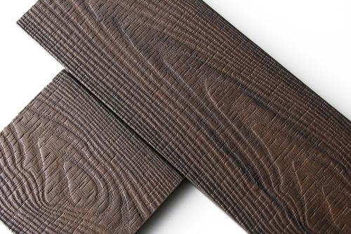 中国最好的实心压花木塑地板