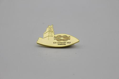 德国汉堡G20峰会专用金属徽章