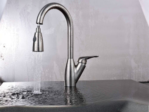 Stainless Steel 304 Casting Pull Out Kitchen Faucet