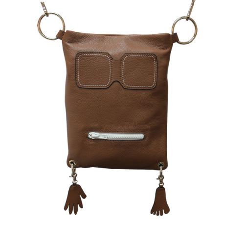 Funky Monkey Convertible Leather Bag