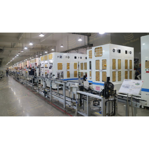 Smoke Detector Automatic Assembly Detection Line