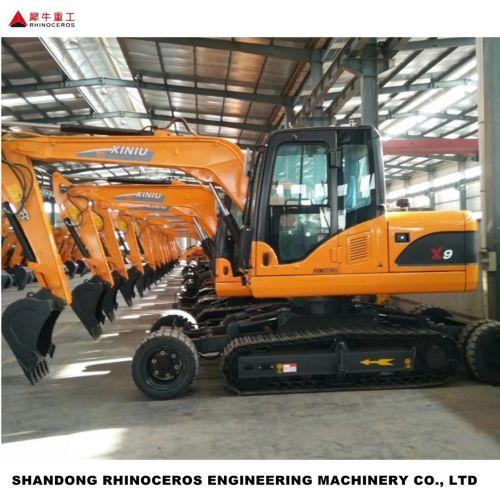X9 9吨轮式履带挖掘机(专利产品)